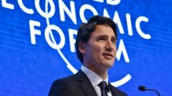 Canada's Open For Business, Trudeau Tells World Economic