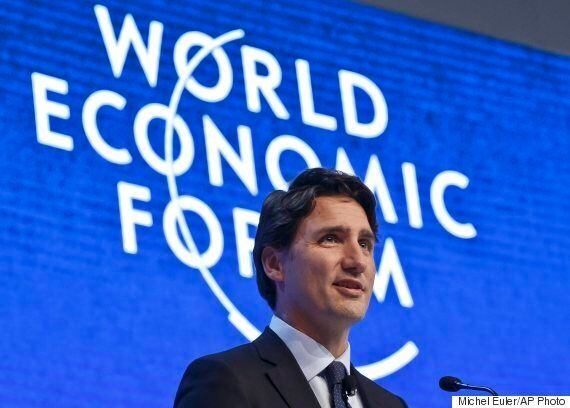 Trudeau's World Economic Forum Message: Canada's Open For