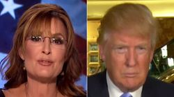 Sarah Palin Endorses Donald Trump For