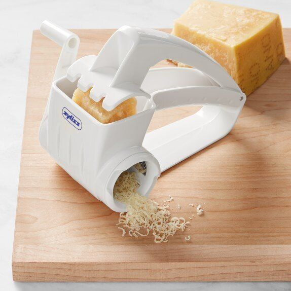 This cheese grater is strong enough to shred tough items like candied