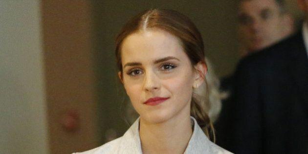 NEW YORK, NY - SEPTEMBER 20: UN Women Goodwill Ambassador Emma Watson attends the HeForShe campaign launch...