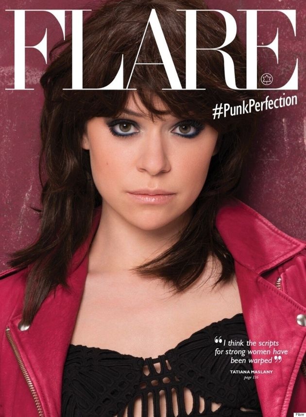 Tatiana Maslany Shows Her Style Range For Flare