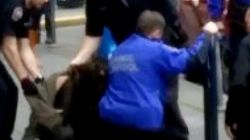 ► Victoria Police Knee Teen Girl In Ribs During