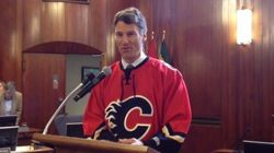 Vancouver Mayor Delivers On Calgary Playoff
