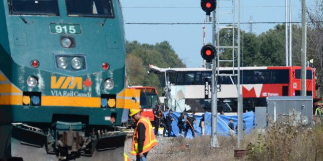 Ottawa Bus-VIA Train Crash: Safety Board Advises Review Of Bus Speeds, Video
