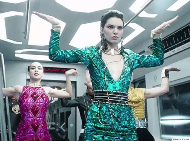 Balmain x H&M's Highly-Anticipated Music Video Is Here, And It's As Fierce As You'd