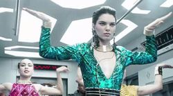 Kendall Jenner Leads An Epic Dance-Off In Balmain x H&M's Music