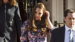 Kate Middleton's Bump Pops In Floral