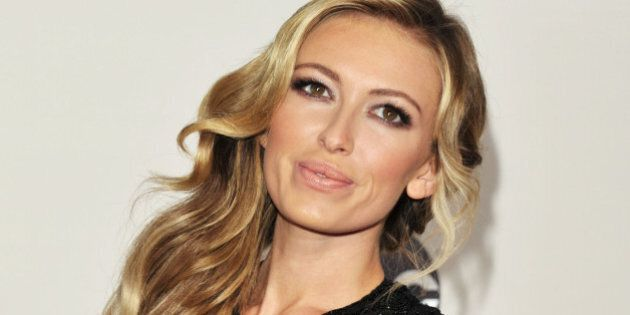 LOS ANGELES, CA - NOVEMBER 24: Model Paulina Gretzky attends the 2013 American Music Awards at Nokia...