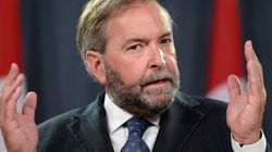 Mulcair Was the One Out of Line at Question