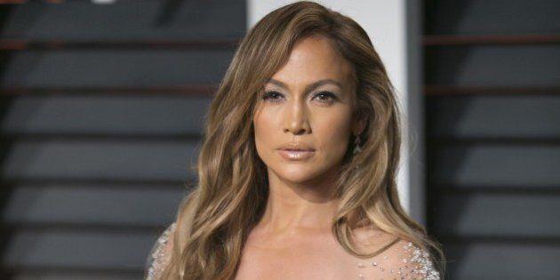 Jennifer Lopez arrives to the 2015 Vanity Fair Oscar Party February 22, 2015 in Beverly Hills, California.AFP...