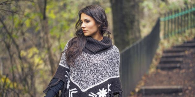 20 Stylish Ponchos You'll Ditch Your Coats For