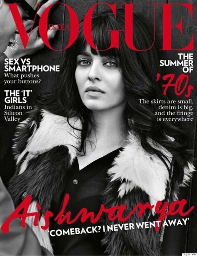 Aishwarya Rai Covers Vogue India, Wears Fantastic