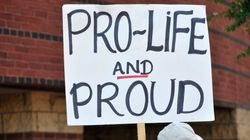 Graphic Anti-Abortion Display Causing Friction On