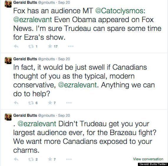 Trudeau To Boycott Sun News After Ezra Levant's Wedding Photo