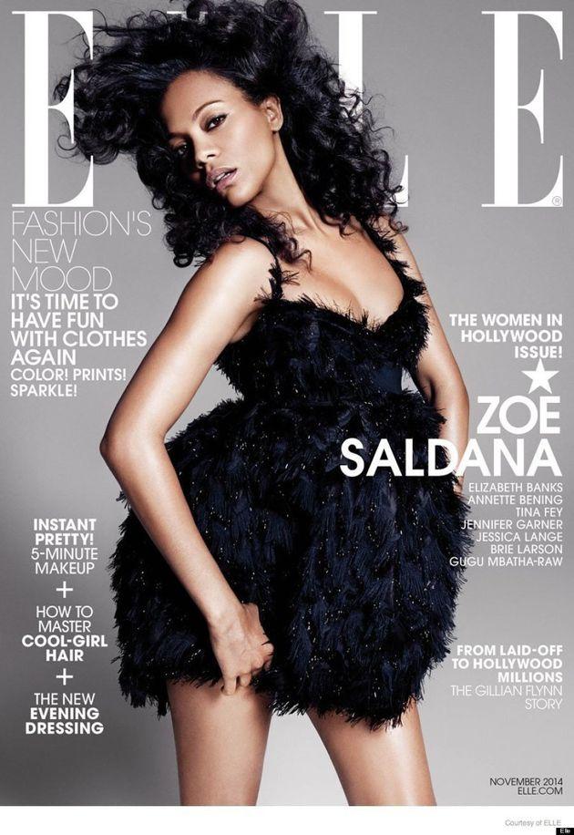 Tina Fey Rocks Lingerie For Elle's Women Of Hollywood