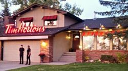 LOOK: Suburban Home Becomes Tim Hortons