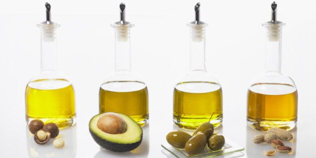 Monounsaturated Fats - foods and their oils that make up healthy