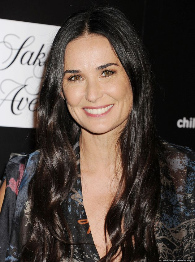Demi Moore Looks Like She Hasn't Aged At