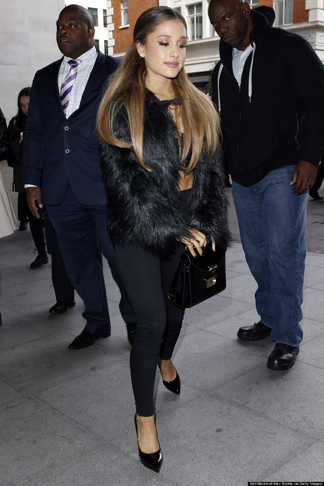 Ariana Grande Changes Her Signature Hairstyle For A Hot