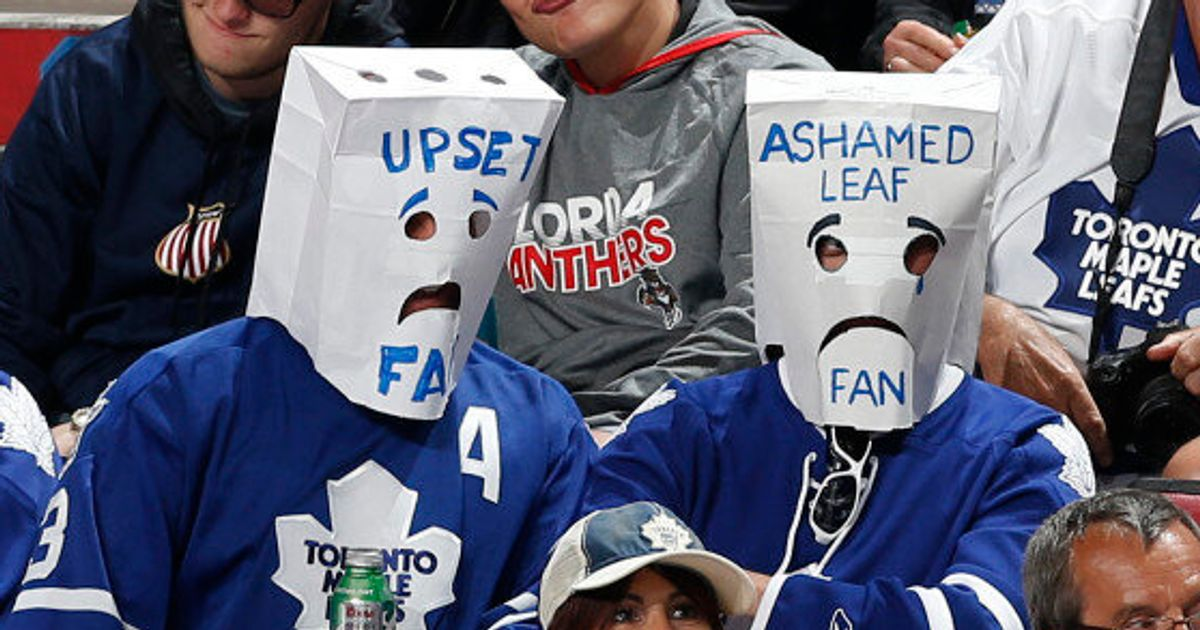 29 Signs You Re A Toronto Maple Leafs Fan Huffpost Canada