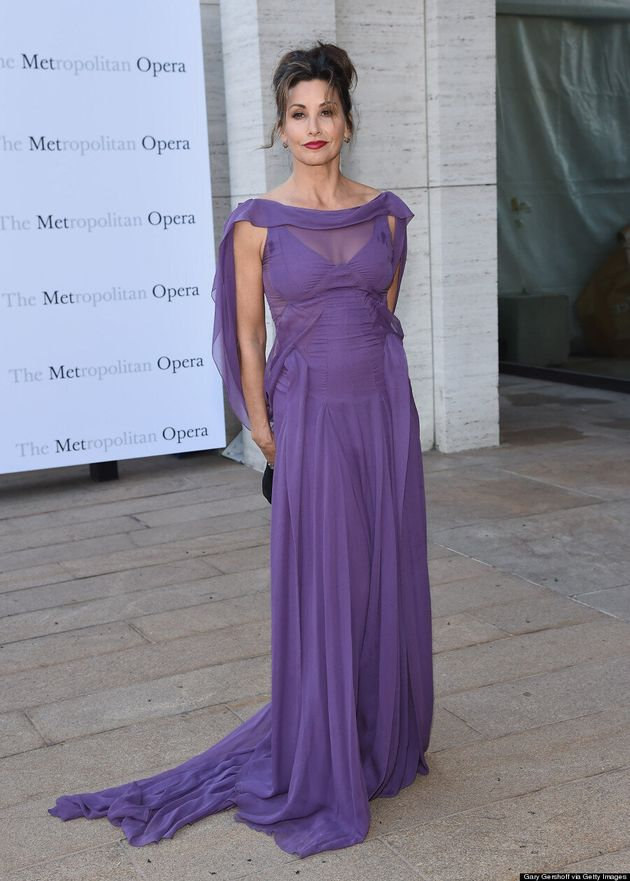 Gina Gershon Would Make Cristal Connors Proud In Purple