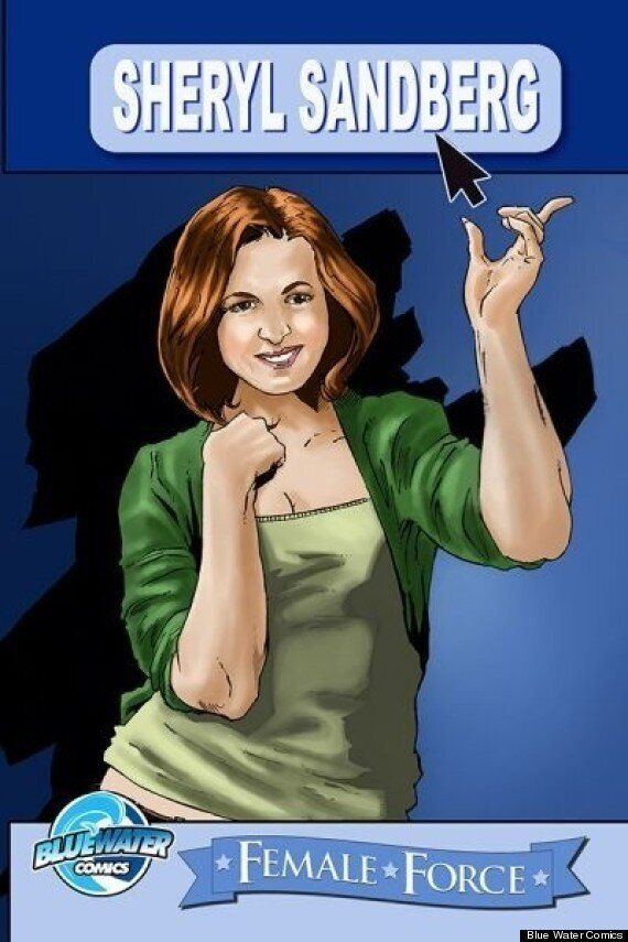 Sheryl Sandberg Comic Will Detail Life Of Facebook