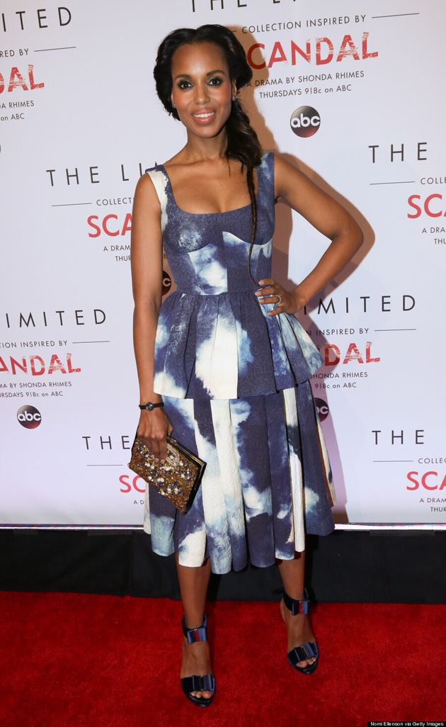 Kerry Washington's Cloud Dress Is So