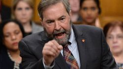 Mulcair Slams 'Freeloader'