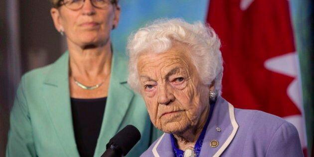 Hazel McCallion Endorses Christine Elliott In Ontario PC Leadership