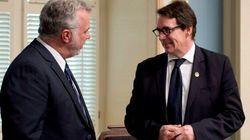 Quebec Premier Drops Tax Credit Benefiting Peladeau's
