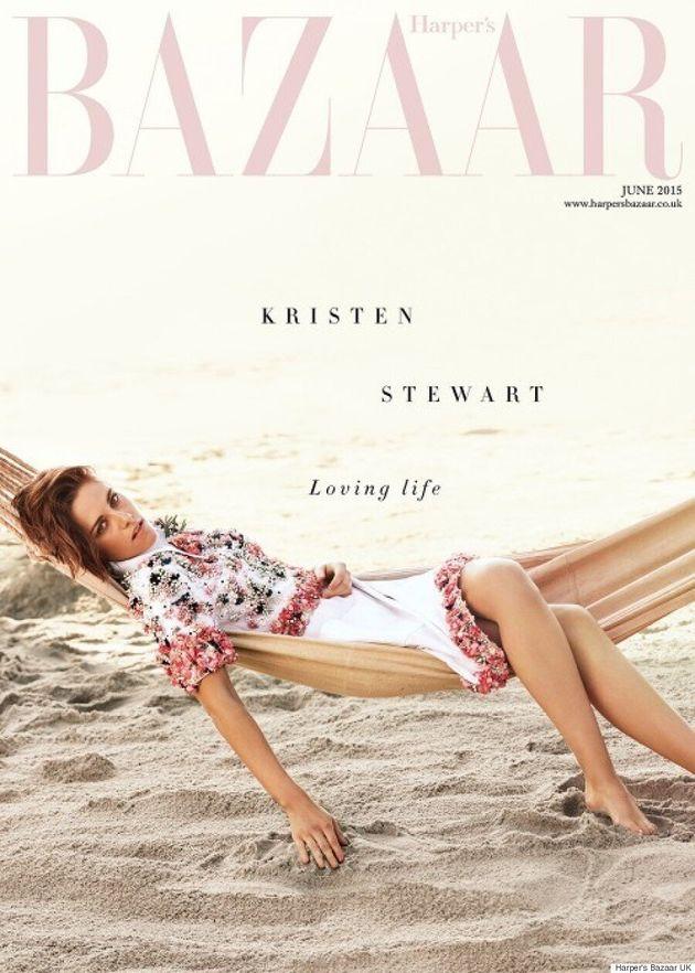 Kristen Stewart's Harper's Bazaar June Cover Is Wonderfully