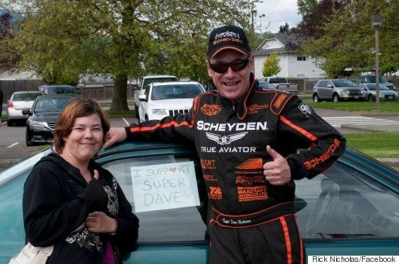 'Super Dave' Mathieson's Air Shows Grounded In Chilliwack,