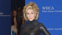 Jane Fonda Revives Barbarella At White House Correspondents'