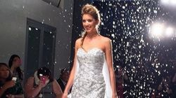 'Frozen' Wedding Dress Is A