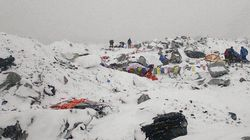 Everest Climbers Saw 'A Wall Of Ice Coming Towards