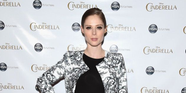 NEW YORK, NY - FEBRUARY 26: Model Coco Rocha attends the 'Cinderella' New York Special Screening at Tribeca...