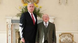 Vickers Poses With Irish President, Gets Called Canada's 'Friendly