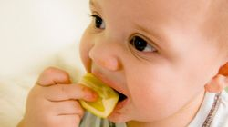 12 Super Cute Babies Eat Sour Food For The First