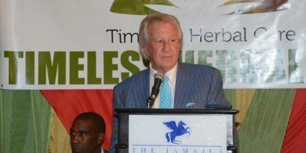 Ernie Eves, Ex-Ontario Premier, Cheers On Marijuana Legalization In