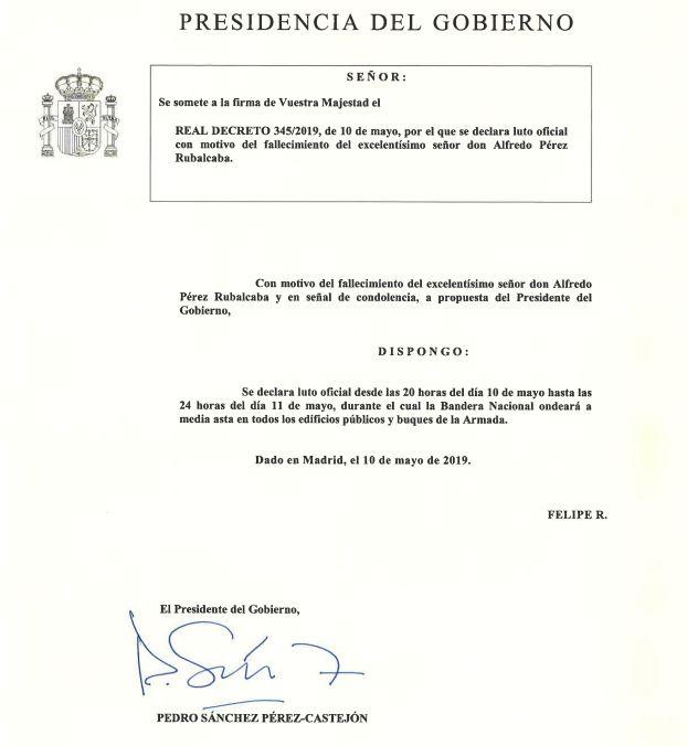 Muere Alfredo Pérez