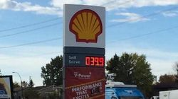 Look How Cheap Gas Is At Some Alberta Stations