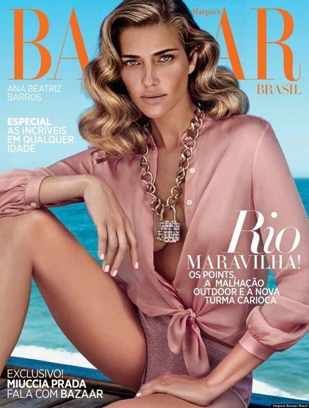 Harper's Bazaar Brazil Slammed For Photoshopping Model's