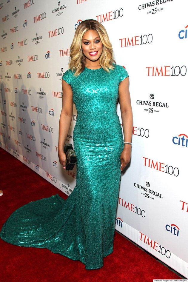 Laverne Cox's Time 100 Gala Dress Brings On The