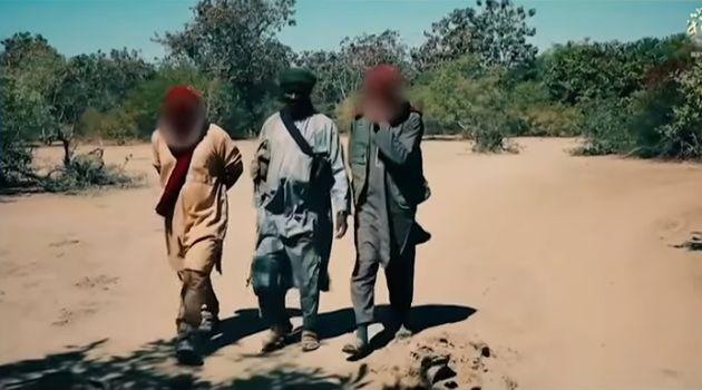 Extrait d'une vidéo de propagande de l'organisation terroriste Katiba Macina publiée fin...