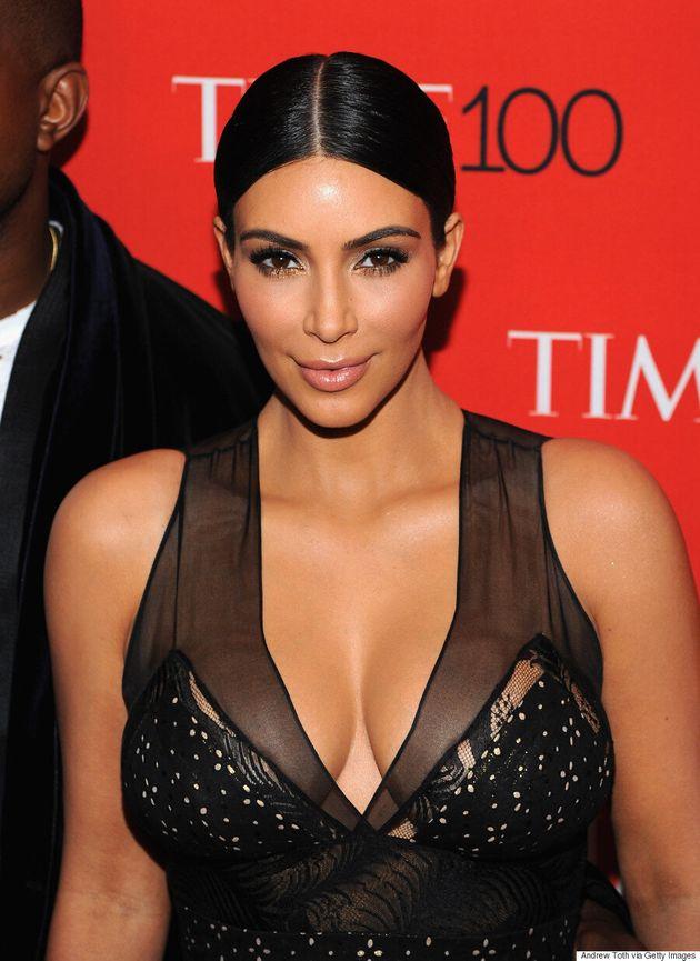 Kim Kardashian's Time 100 Gala Dress Is Classy And