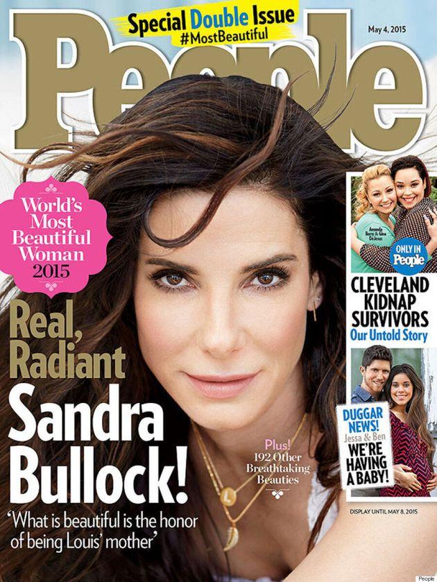 Sandra Bullock Named 'World's Most Beautiful Woman' By People