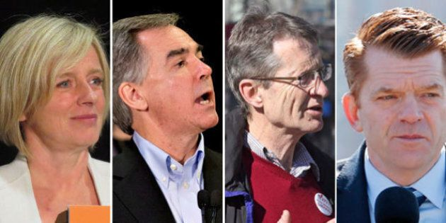 Alberta Election 2015: Party Leaders Prepare For Televised