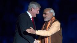Indian PM Met With Fans And Protesters At Toronto