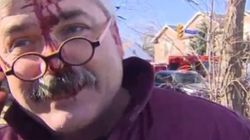 Man's Response To A Car Crash Could Hardly Be More